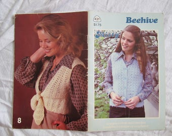 Beehive Misty designs to knit and crochet / Patons Beehive Misty / Beehive booklet 431