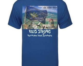 Keys Strong Long Live the Conch Republic MENS TEE