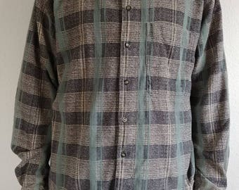 Vintage Mountain Plaid Buttondown