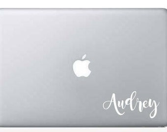 Custom decal name, name sticker, custom name, wedding sticker, laptop decal, classroom organization, office labels, bridal party