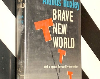 Brave New World by Aldous Huxley (1946) Modern Library hardcover book