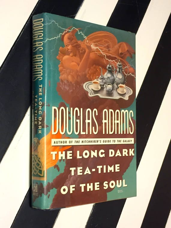 The Long Dark Tea-Time of the Soul by Douglas Adams (1988) first edition book
