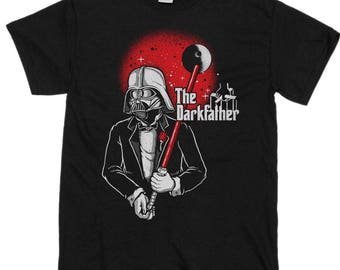 The Dark Father T-Shirt Start Wars Comedy TShirt Fathers Day T-Shirts 2018