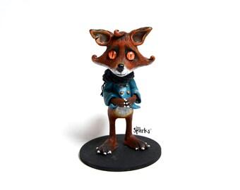 Fox - unique & handmade.