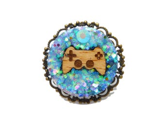 Geek gaming console controller ring