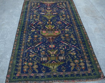 7 x 4 Feet Beautiful Vintage Tribal Baluch Shendai rug