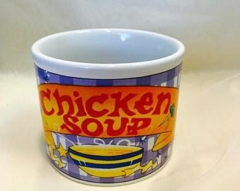 Unique Style Chicken Soup Mug