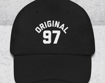 21st Birthday Gift For Her & Him - Gift for boyfriend - Original 97 Dad Hat -21st Birthday Hats -Baseball Cap - 21st Birthday 1997 Dad Hats