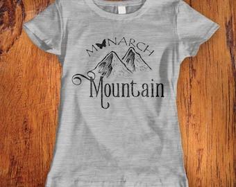 Womens Tshirt Monarch Mountains Shirt Monarch Ski Shirt Colorado Snowboard shirt Monarch Mountain Snowboard top women's colorado ski shirt