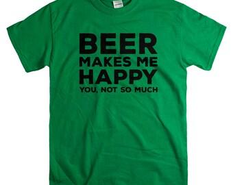 St Patricks Day Shirt for Men - Beer Tshirts - Beer Lover Gift for Him