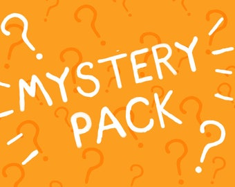 MYSTERY PACK !! 1 A4 and 2 6x4 !! Random and Limited