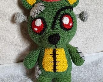Frankie the zombie bear