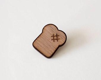 Wooden pin - Toast