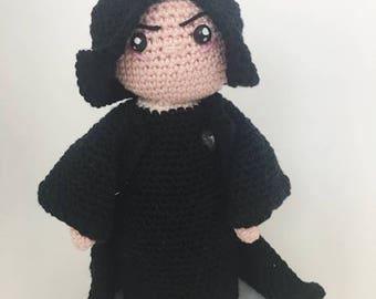 severus snape crochet pattern dutch/english
