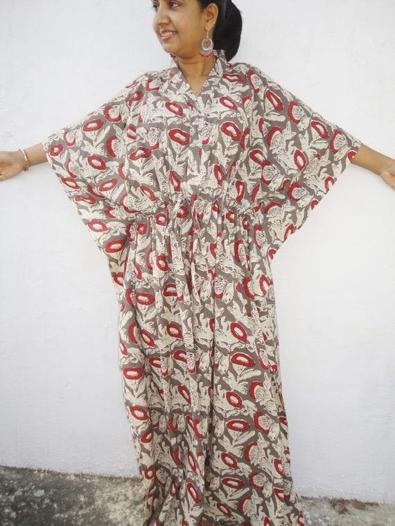 Maternity hospital gown Nursing kaftan Maternity gown Batik