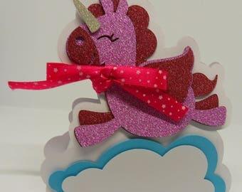 Glitter Unicorn decorative box