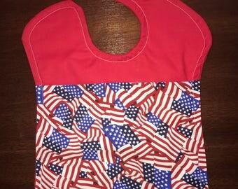 Patriotic 4th of July Themed Bibs