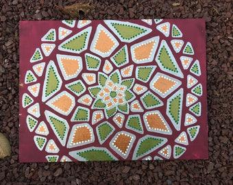 Snake Mandala Painting