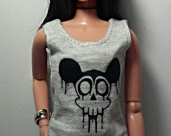 graphic tank top for Integrity Toys dolls