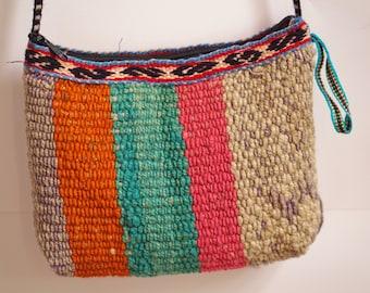 boho crossover bag, gypsy bag, bohemian crossover bag, peruvian bag, ethnic crossbody bag, unique bag, FREE SHIPPING!