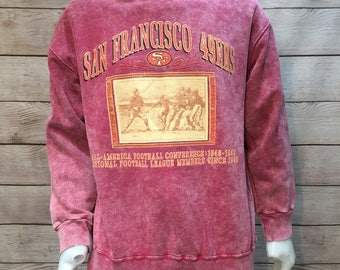 Vintage NFL Football San Francisco 49ers Sweatshirt from Hometown Advantage
