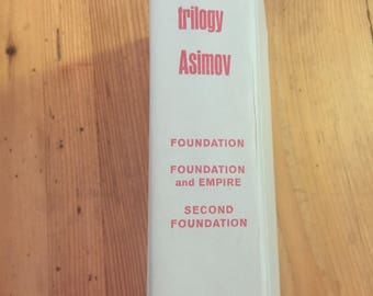 1951 Isaac Asimov The Foundation Trilogy Hardcover Doubleday Science Fiction