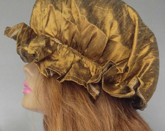 100% Silk Hair Bonnets/Caps