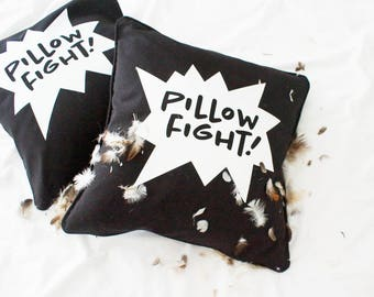 Pillow cover 'Pillow Fight!'