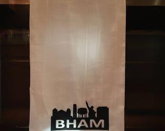 Flour sack kitchen towel, southern kitchen towel, Birmingham, Alabama