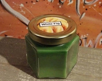 4 Oz White Fig Scented Candle
