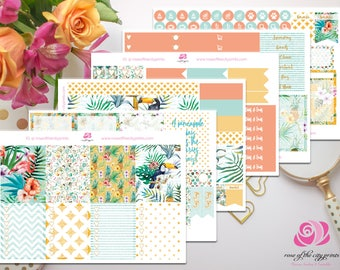Tropical Teal Deluxe Sticker Kit