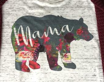 Twin mama bear shirt etsy mama bear shirt momma bear shirt boy mom shirt mom shirt girl publicscrutiny Image collections