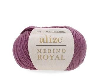 ALIZE MERINO ROYAL 100% wool warm winter yarn hand knit yarn soft yarn pure wool yarn hand knit yarn hand knit crochet alize wool merino