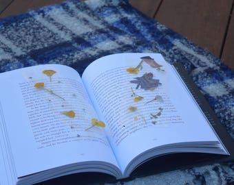 Handmade Pressed Flower Bookmarks