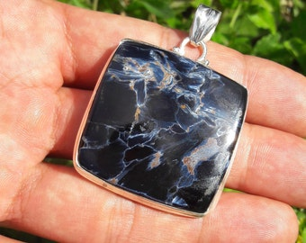 Pietersite 19 g superb quality 925 sterling silver