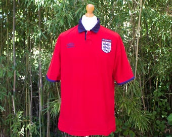 UMBRO X ENGLAND International Away Shirt 1999-2001 - Size Extra Large