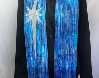 Clergy Stole, Bethlehem Star