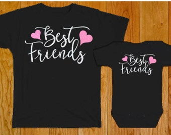 Best Friends Matching Shirts - Best Friends Forever - Shirts for Best Friends - Sister Shirts - Big Sister Shirt - Little Sister Shirt - BFF