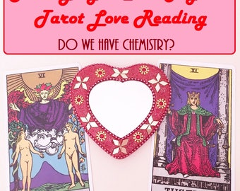 Same Day 2 Card Chemistry Tarot Reading - Experienced, Empathic Reader GREAT VALUE!