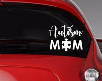 Understand Autism Car Decal Vinyl Decal Car Accessories