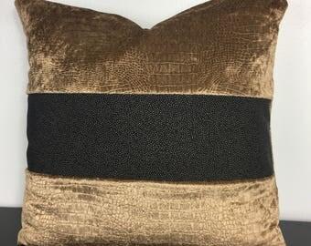 GOT inspired crushed velvet Pillow Cover