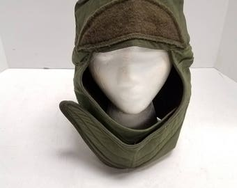 Vintage Vietnam  War Era US Army, Military Cold Weather Helmet Liner Insulating Cap - Size 7 3/4 -  1960s- 1970's Propper International co.