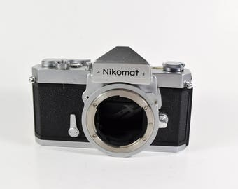 Nikomat FT Parts or repair only!  Shutter mirror locked