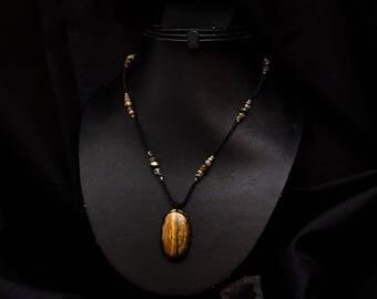 Kiabate Tiger Eye necklace