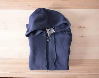 Adidas classic strips hooded sweatshirt
