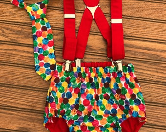 The very hungry caterpillar cake smash outfit