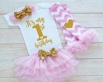 1st Birthday Outfit Girl, First Birthday Girl Shirt, Baby Girl Birthday Announcement, Birthday Bodysuit, Princess Birthday, Birthday Gift