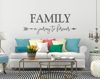 Family Wall Decal Etsy - Wall decals about family