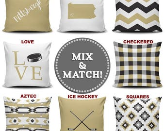 Pittsburgh Mix & Match Pillow Covers