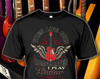 Guitar Player Tee - Guitars Shirt for Fans - Guitar Player Gift - Guitars Hoodie - Sizes up to 5XL!
